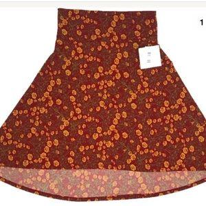 Dresses & Skirts - LulaRoe Azure Skirt Medium burnt orange yellow